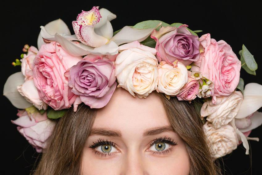 4 Idea minimalis untuk bridesmaid sedondon dengan 'Flower Crown'