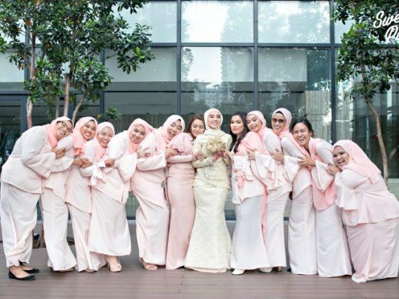 Bridesmaid Bukan Hanya Bergaya Sahaja, Ini Tugas Sebenar Yang Ramai Belum Tahu