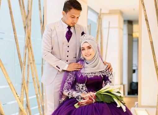 """Kenapa you bawa sayur kailan masa sanding"", Haziq Hotfm terkejut bunga tangan si isteri"