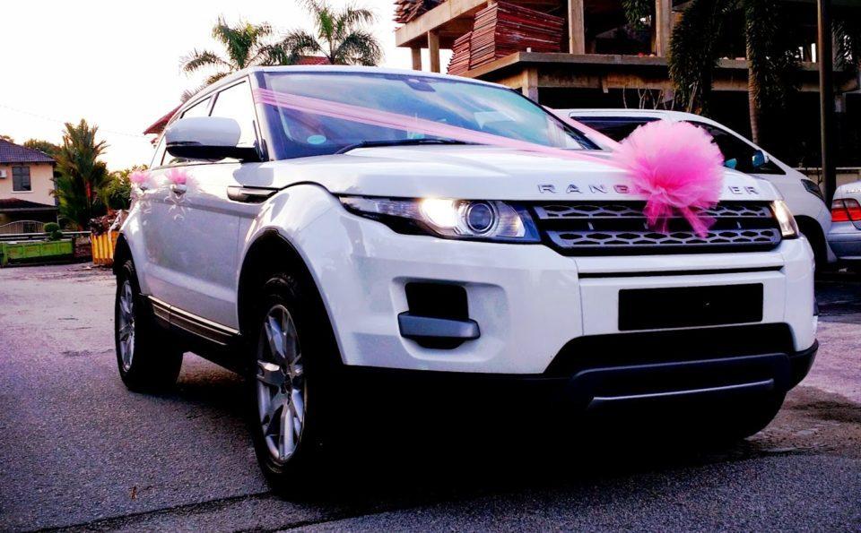 Tutorial mudah hias kereta pengantin. Senang je rupanya!