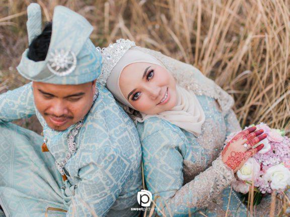 Trik gaya tudung satin tidak senget untuk pengantin berhijab macam Vivy Yusof