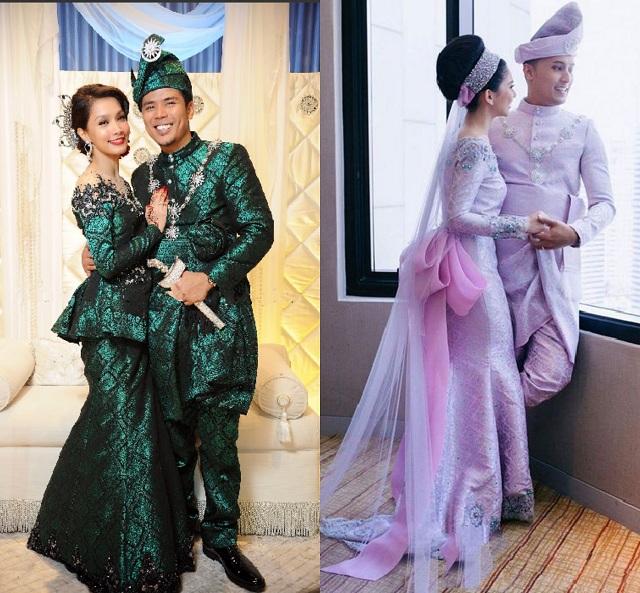 Inspirasi baju pengantin songet ala moden buat jatuh cinta pandang pertama