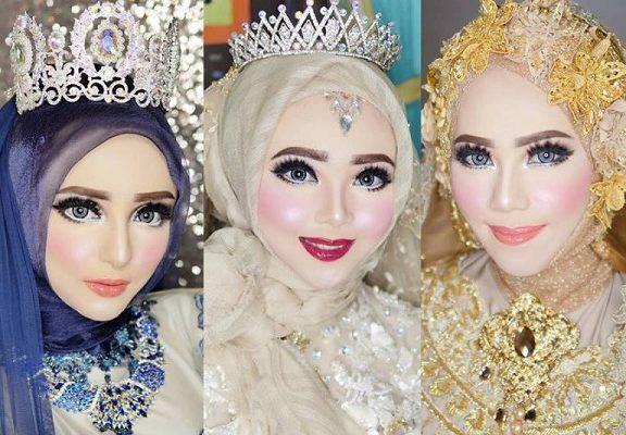 'Before & After' mekap pengantin ini confirm buat anda tak berkelip mata