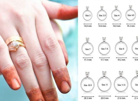 Nak cari cincin kahwin? Ini cara ukur jari untuk tahu saiz anda