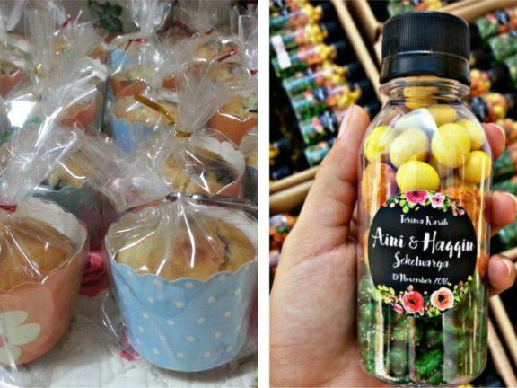 8 idea doorgift pengantin berbentuk makanan bawah RM2 sahaja