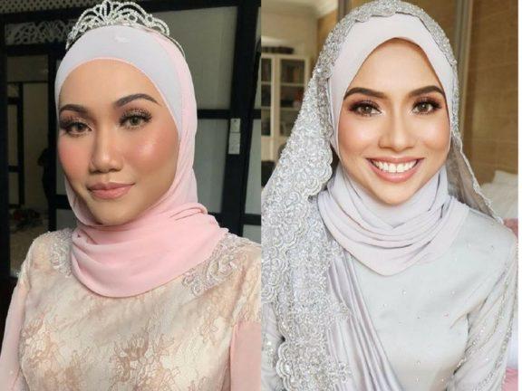 Gaya tudung paling 'on' untuk pengantin berhijab