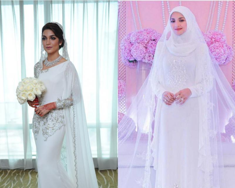 Top 10 baju nikah anggun dan sopan paling 'in' tahun 2020