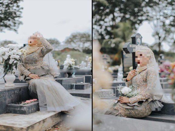 Photoshoot baju sanding di perkuburan kristian, pemilik butik akui kesilapan dan mohon maaf