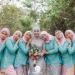 10 Idea warna tema untuk Bridesmaid yang paling cun