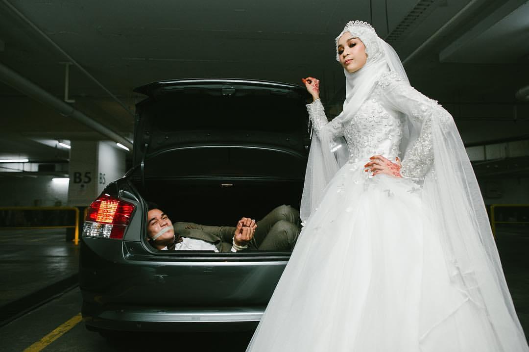 10 Gambar perkahwinan paling cun & rare untuk ilham anda