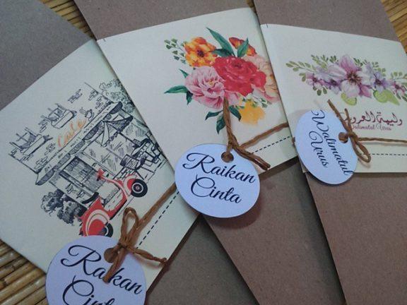 10 pereka kad kahwin yang mampu menjadikan jemputan anda lebih indah