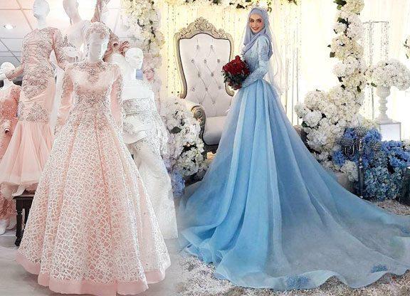 10 Inspirasi baju sanding lace yang cukup padu