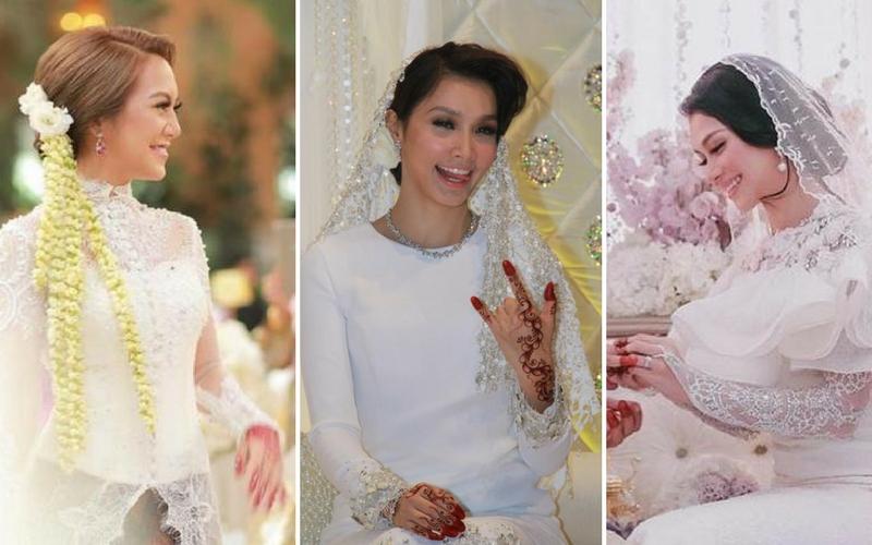 11 Idea menarik untuk ambil gambar baju pengantin yang 'ummph'