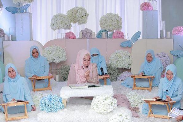 Ambil berkat majlis perkahwinan dengan sesi khatam Al Quran