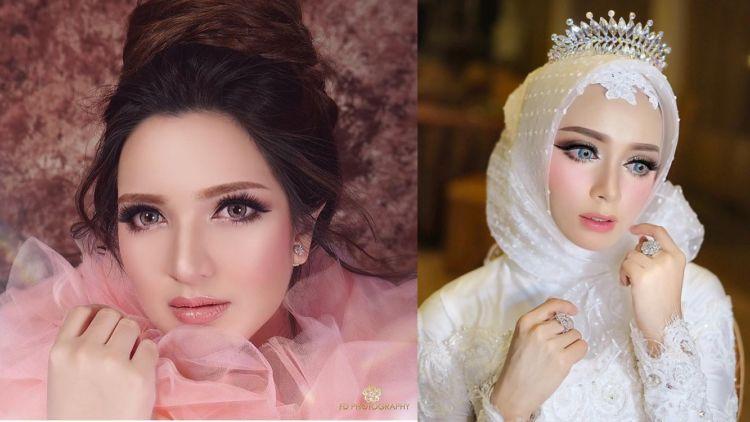 Berubah 360 darjah, makeover pengantin ala 'barbie doll'