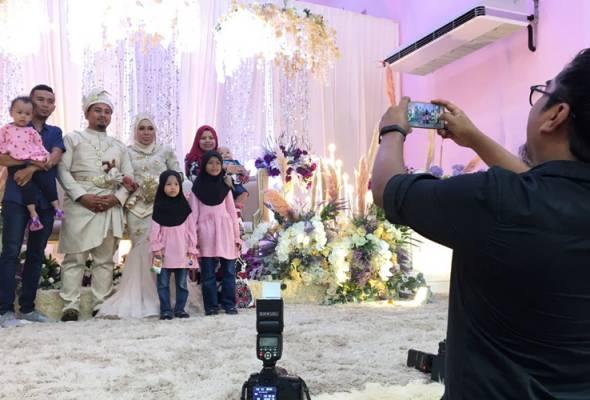 COVID-19: Elak minta bantuan jurugambar rakam gambar kahwin guna telefon bimbit